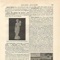 Coleccionismo: LAMINA ESPASA 12646: AGUADORES EN QUITO ECUADOR. Lote 60235745