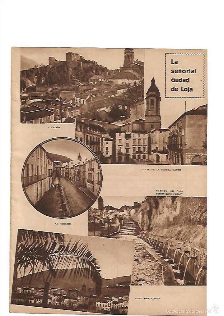 d1bc437c80 AÑO 1935 RECORTE PRENSA LA SEÑORIAL CIUDAD DE LOJA PUBLICIDAD FABRICA DE  CEMENTO CENTAURO GRANADA (