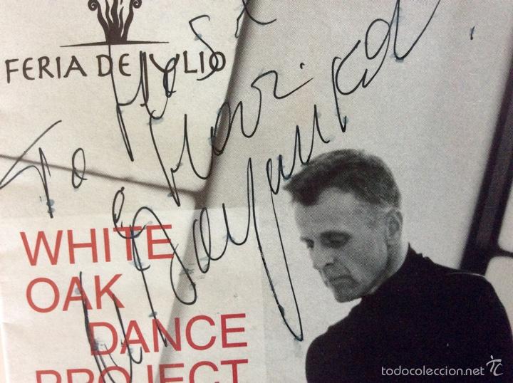 Coleccionismo: Firma original de MIKHAIL BARYSHNIKOV sobre programa de mano de hace más de 15 años - Foto 2 - 60696175