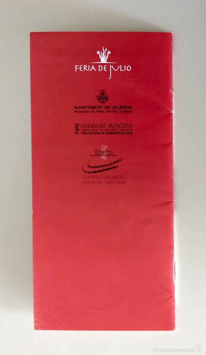 Coleccionismo: Firma original de MIKHAIL BARYSHNIKOV sobre programa de mano de hace más de 15 años - Foto 4 - 60696175