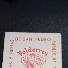 Coleccionismo: POSAVASOS VALDERREY DE ZAMORA. Lote 61426451