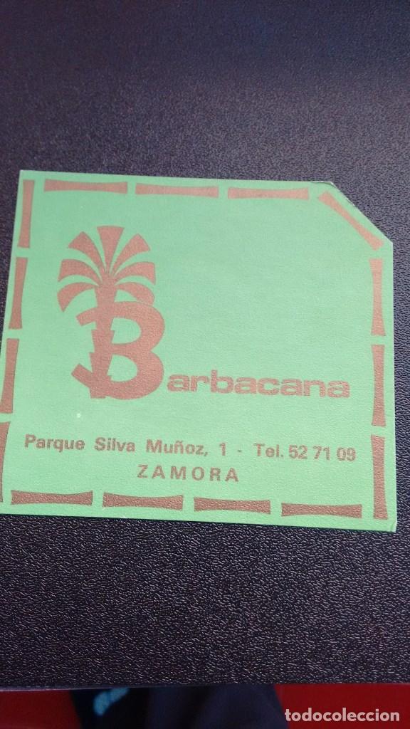 POSAVASOS BARBACANA DE ZAMORA (Coleccionismo - Varios)