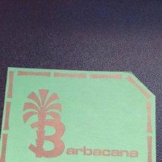 Coleccionismo: POSAVASOS BARBACANA DE ZAMORA. Lote 61427119