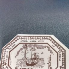 Coleccionismo: POSAVASOS CAFETERÍA VENECIA DE ZAMORA. Lote 61429375