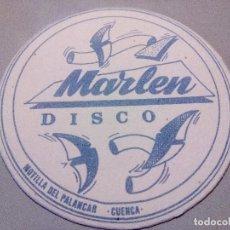 Coleccionismo: POSAVASOS POSAVASOS DISCO MARLEN. Lote 61573432