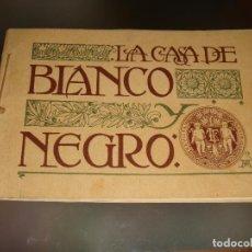 Coleccionismo: FANTASTICO DOCUMENTO GRAFICO DE 1899 LA CASA DE LA REVISTA BLANCO Y NEGRO . Lote 61778756