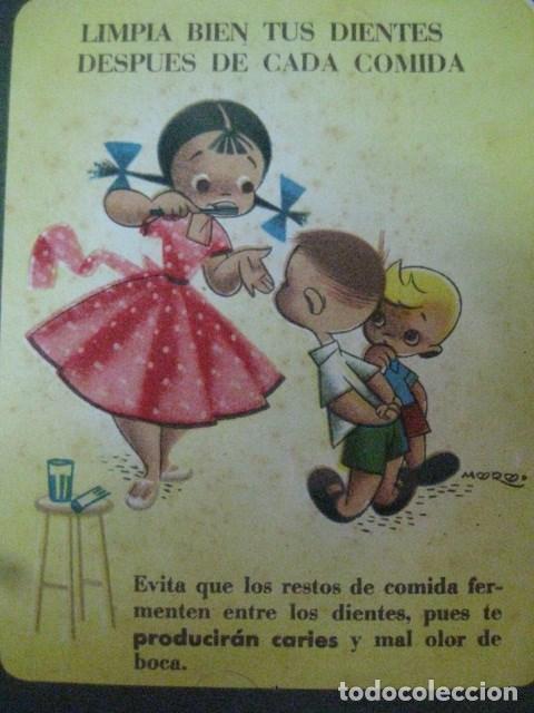 Coleccionismo: 1953 - DOS LAMINAS RARA Y ANTIGUA PUBLICIDAD EN PAPEL DE PROFIDEN CON MUCHO ENCANTO - Foto 3 - 68779909