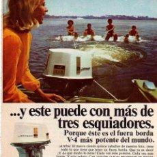 Coleccionismo: ANUNCIO PUBLICIDAD MOTOR FUERABORDA JOHNSON. Lote 62560716