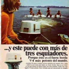 Coleccionismo: ANUNCIO PUBLICIDAD MOTOR FUERABORDA JOHNSON. Lote 62560968