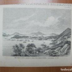 Coleccionismo: VISTA DE FLORIANÓPOLIS (SANTA CATARINA, BRASIL), 1879. Lote 62871760