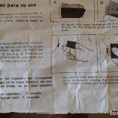 Coleccionismo: VALVULA PARA CARGAR MECHEROS DE GAS. Lote 62886344