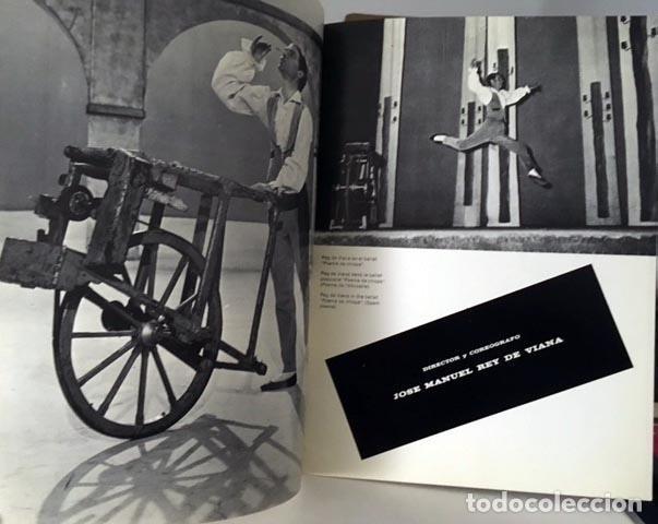 Coleccionismo: Ballet Gallego. Ballet Histórico Español. (1969) Numerosas fotos. Críticas. Director: Rey de Viana - Foto 2 - 62929156