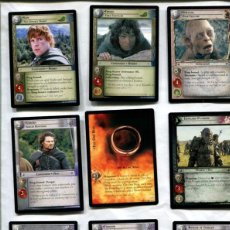 Coleccionismo: THE LORD OF THE RINGS, TRADING CARD GAME. Lote 62941056