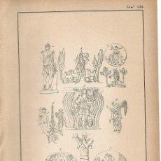 Coleccionismo: LAMINA 134: ARTE CRISTIANO PRIMITIVO. Lote 55625957
