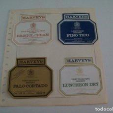 Coleccionismo: ETIQUETA LICOR 2238: HARVEYS - ESPAA. Lote 55681668