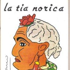Coleccionismo: REVISTA LA TÍA NORICA. TÍTERES CÁDIZ. Lote 63451172