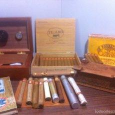 Coleccionismo: LOTE PUROS HABANA,MÉXICO,CAJAS,HUMIDOR ETC. Lote 63486968