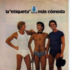 Coleccionismo: ANUNCIO PUBLICIDAD MUDAS OCEAN-LECHE MOLICO. Lote 63684139