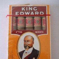 Coleccionismo: ANTIGUO PAQUETE DE PUROS KING EDWARD. Lote 63806903