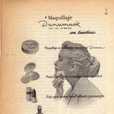 Coleccionismo: ANUNCIO PUBLICIDAD MAQUILLAJE DANAMASK. Lote 64364159