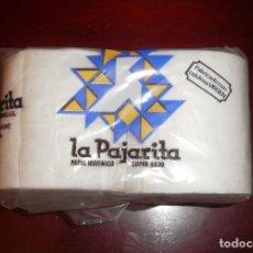 Coleccionismo: ASEO Y BAÑO. ROLLOS DE PAPEL HIGIÉNICO LA PAJARITA. AÑOS 70/80, NUEVO. Lote 64408787