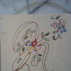 Coleccionismo: AZULEJO PINTADO .. Lote 64647231