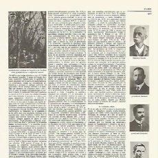 Coleccionismo: LAMINA LAROUSSE 70189: COMBATIENTES DE CUBA EN LA GUERRA DE LOS DIEZ AOS. Lote 64949029