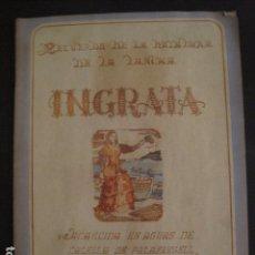 Coleccionismo: CALELLA DE PALAFRUGELL -BOTADURA LANCHA INGRATA - 12 FEBRERO DE 1949 - VER FOTOS - (V- 7116). Lote 64974783