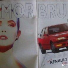 Coleccionismo: PUBLICIDAD AUTOMOVIL RENAULT 19 RTI DE 1992. Lote 65774738