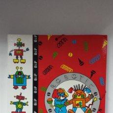 Coleccionismo: CARPETA SEPARADORA POPPLES ROBOTIC BUSQUETS AÑOS 80-ESTRENAR. Lote 65815162
