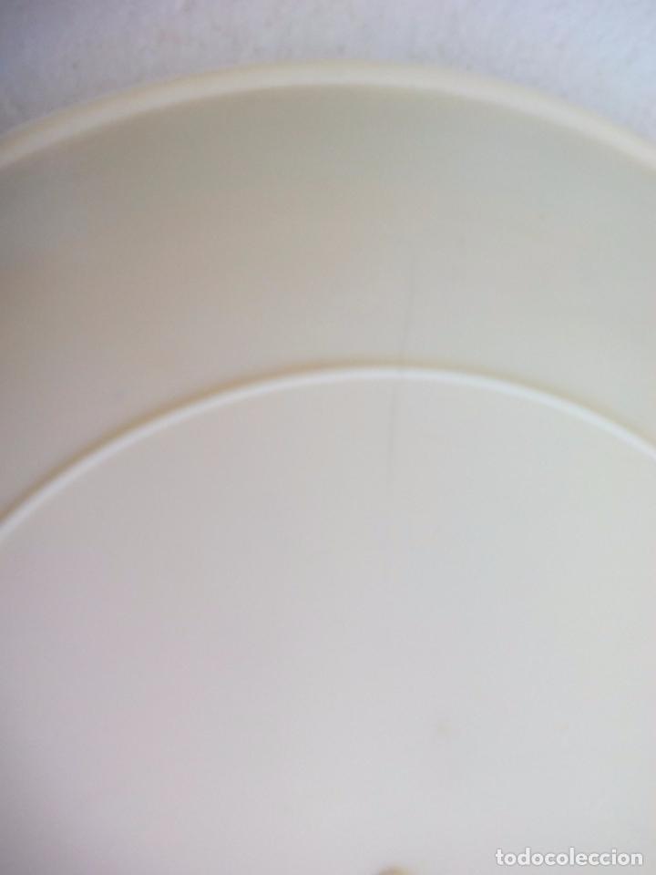 Coleccionismo: Antiguo plato blanco turístico de Mijas, Málaga, años 60 Burro taxi Creaciones Regina Torremolinos. - Foto 4 - 65888098