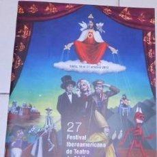 Coleccionismo: PROGRAMA DEL 27 FESTIVAL IBEROAMERICANO DE TEATRO (FIT) DE CÁDIZ, DE 2012. Lote 66252810