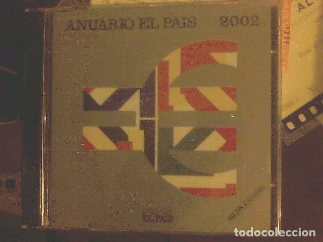 CD EL PAÍS - ANUARIO 2002 (Coleccionismo - Varios)
