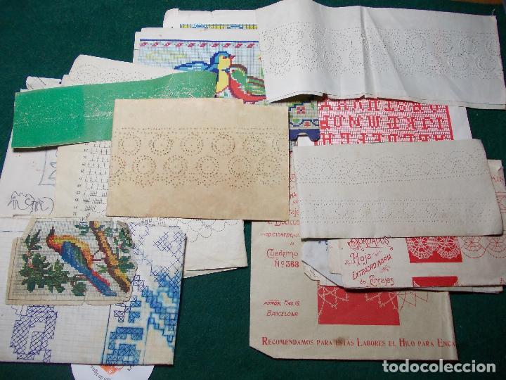 antiguos patrones modelos para coser a mano - Comprar en ...