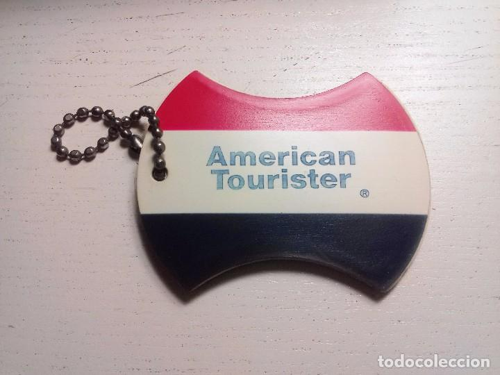ANTIGUO IDENTIFICADOR DE MALETAS AMERICAN TOURISTER, usado segunda mano