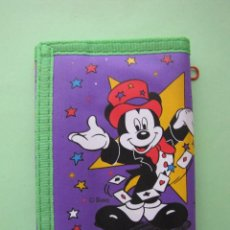 Collectionnisme: ANTIGUA BILLETERA CARTERA MONEDERO DE MICKEY DISNEY. NUEVA. AÑOS 80. Lote 66920898