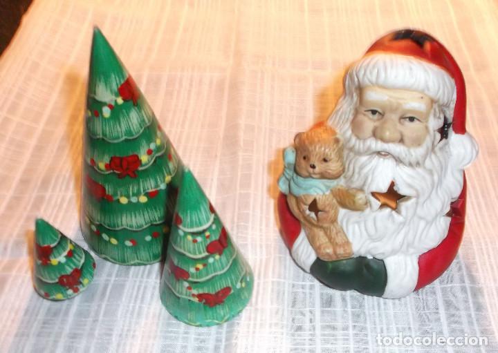 Figuras Adorno Para Navidad Porta Velas De Barr Comprar En - Adornos-de-navidad-con-carton