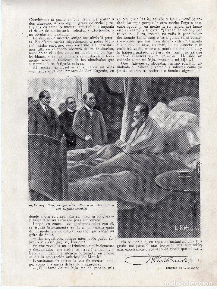 Coleccionismo: RECORTE PRENSA DE 1919-EL COMANDANTE MONTIEL - Foto 2 - 67034006