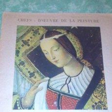Coleccionismo: PINTURICCHIO,CHEES-D´CEUVRE DE LA PINTURA,1951,CON 9 LAMINAS ILUSTRADAS.. Lote 67530621