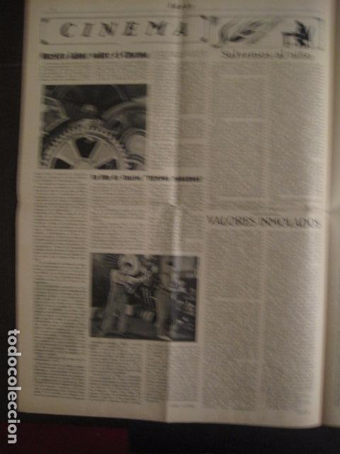 Coleccionismo: HOSPITALET-29 DICIEMBRE 1936-IDEAS-NUMERO 1-MOVIMIENTO LIBERTARIO -GUERRA CIVIL-VER FOTOS- (V-7594) - Foto 5 - 67601209