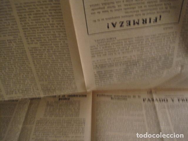 Coleccionismo: HOSPITALET-29 DICIEMBRE 1936-IDEAS-NUMERO 1-MOVIMIENTO LIBERTARIO -GUERRA CIVIL-VER FOTOS- (V-7594) - Foto 7 - 67601209