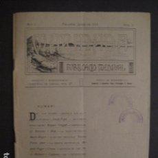 Coleccionismo: PALAMOS - JANER DE 1914 -MARINADA - NUMERO 1 -PUBLICACIO MENSUAL -VER FOTOS- (V-7595). Lote 67601765