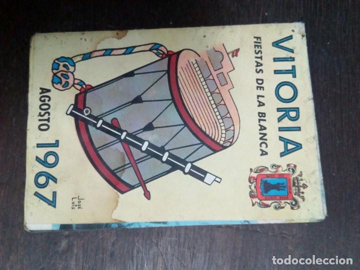 PROGRAMA FIESTAS VITORIA 1967 (Coleccionismo - Laminas, Programas y Otros Documentos)