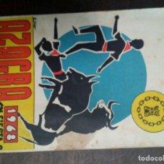 Coleccionismo: AZAGRA 1968 PROGRAMA FIESTAS. Lote 67840001
