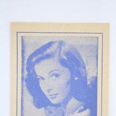 Coleccionismo: FOLLETO PUBLICITARIO / CUADRO DE ALUMBRAMIENTO. PUBLICIDAD EUPARTOL - ANA Mª PIERANGELI - AÑOS 50-60. Lote 67926265