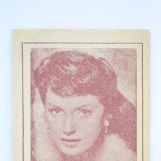Coleccionismo: FOLLETO PUBLICITARIO / CUADRO DE ALUMBRAMIENTO. PUBLICIDAD EUPARTOL - DEBORAH KERR - AÑOS 50-60. Lote 67926373