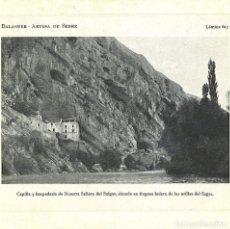 Coleccionismo: LAMINA 617, BALAGUER, ARTESA DE SEGRE. Lote 68029569