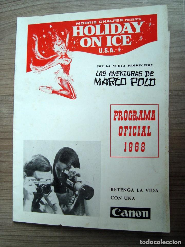 folleto programa holiday on ice, las aventuras - Comprar Documentos ...