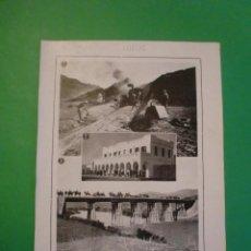 Collectionnisme: CEUTA EL FERROCARRIL TETUAN - XAUEN - 16/1/1921. Lote 68859241