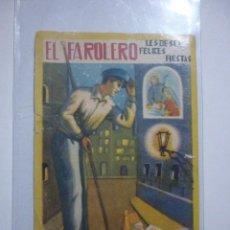 Coleccionismo: AÑOS 50. EL FAROLERO LES DESEA FELICES FIESTAS. Lote 68969841